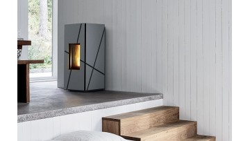 """GROOVE THE FIRST STOVE PELLET WITH THE INNOVATIVE """"CORE"""" TECHNOLOGY By MCZ Group spa"""